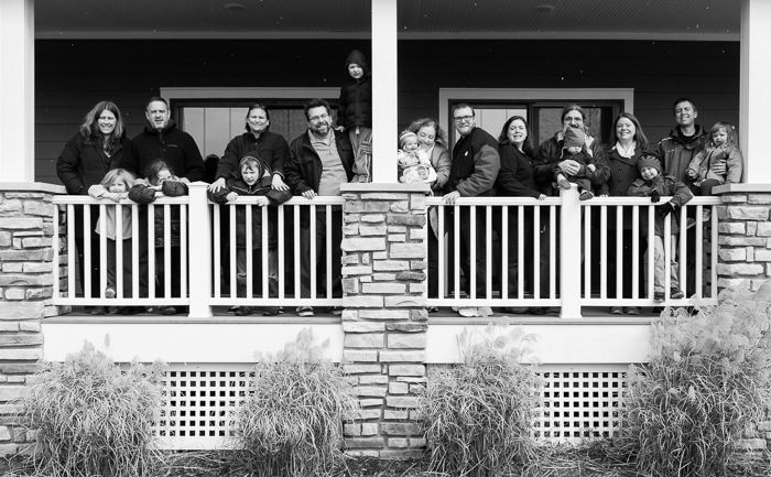 We all rented a house in South Haven, MI this past weekend.