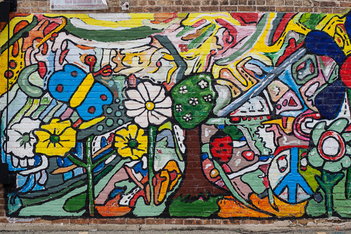 Mural, River West, Chicago