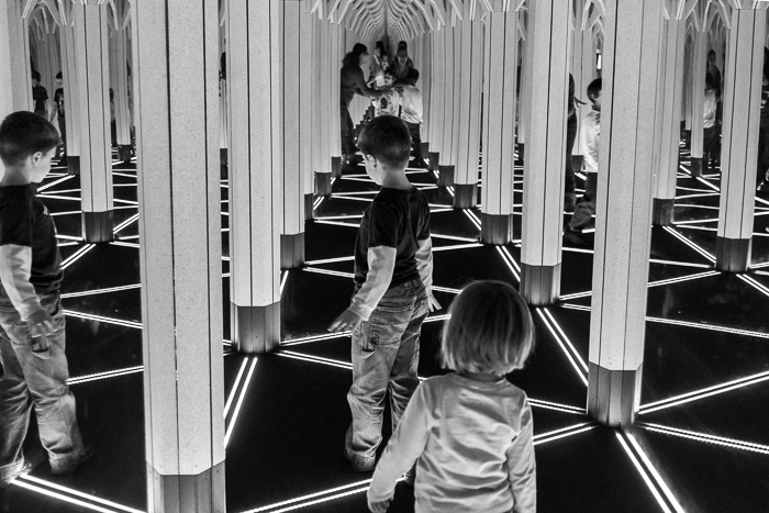 Hall of mirrors, Museum of Science and Industry, Chicago