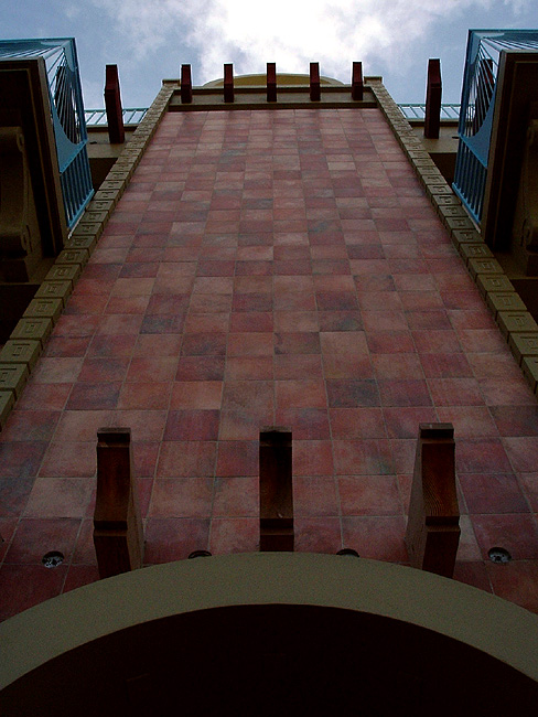 monolith of tile