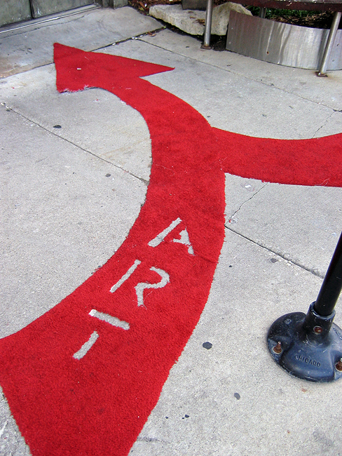 This way to art!!