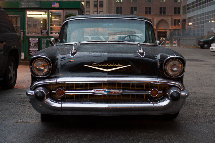 Classic Chevy Parked In The Loop
