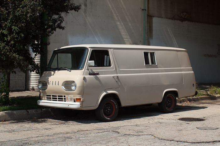 Ford Econoline Supervan. West Loop, Chicago