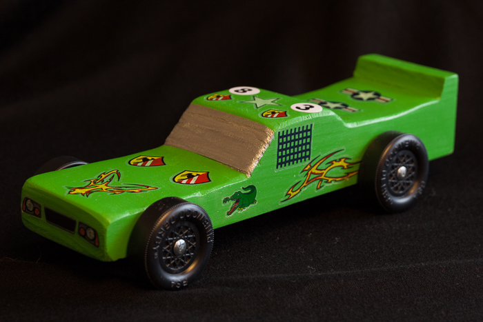 Nate's Pinewood Derby Car 2014