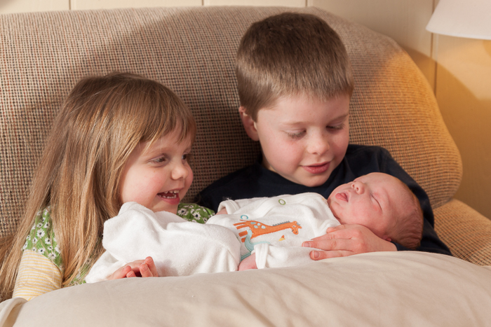 Lily and Nate meeting James for the first time