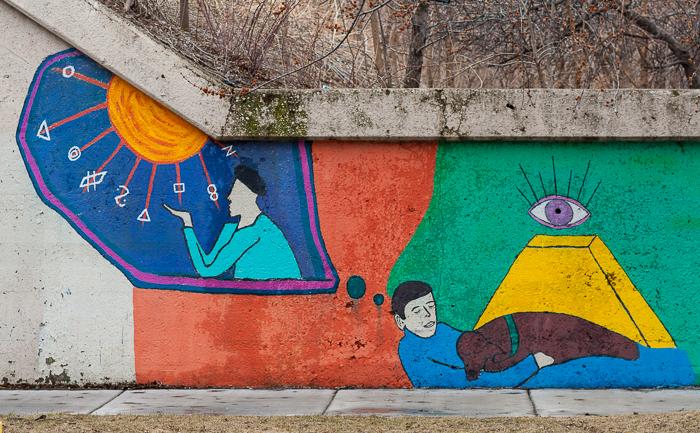 Mural, West Loop, Chicago, Illinois